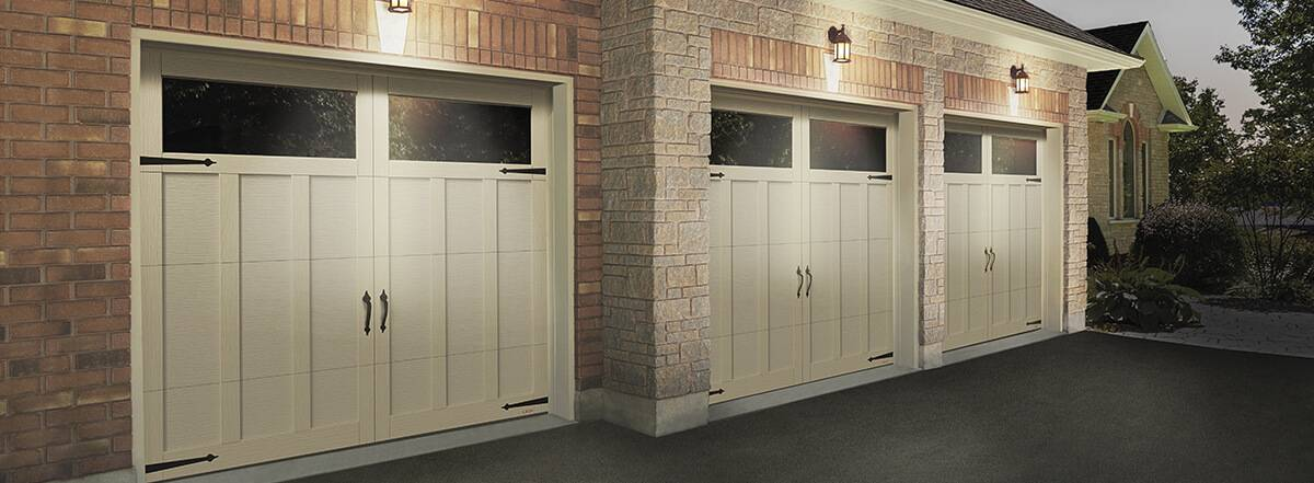Eastman E-13, 8' x 7', Desert Sand doors and overlays, Clear Panoramic windows